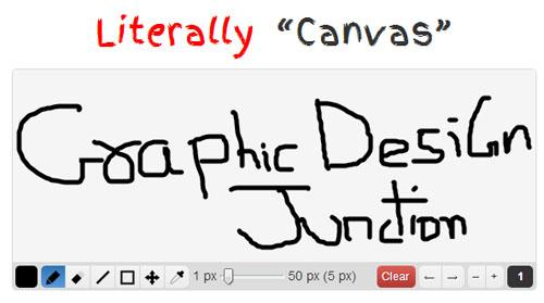 Literally Canvas: HTML5 Drawing Widget